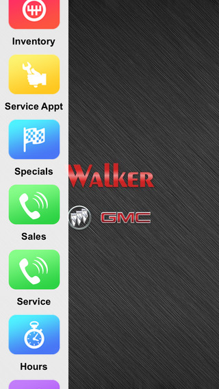 Walker Buick GMC Dealer App