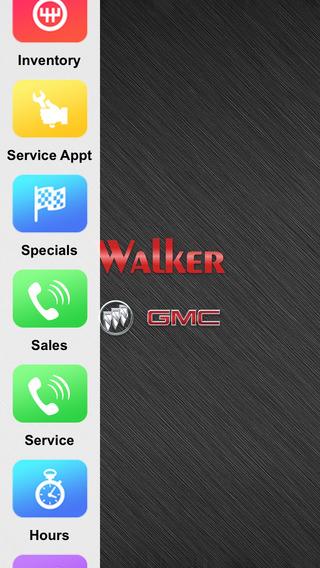 Walker Buick GMC Dealer App
