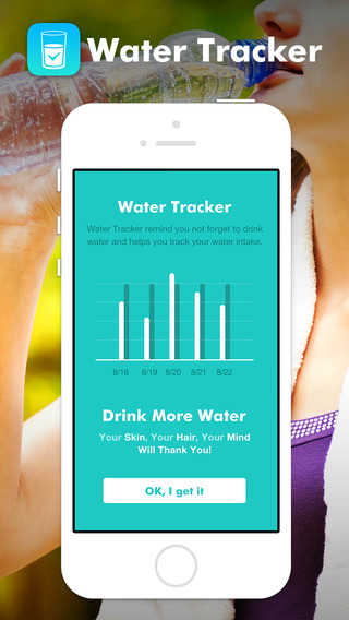 Water Log - Daily Reminder Health Tracker to stay Hydrated