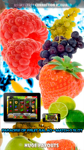 Paradise of Fruit Salad Slots - FREE Slot Game Match 3 Slot
