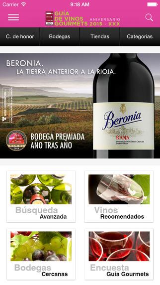Guía Vinos Gourmets 2015 Lite