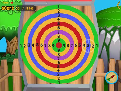 Rabbits and darts for children iPad Screenshot 5