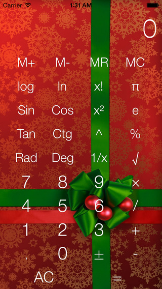 Calculus Plus - Christmas Calculator
