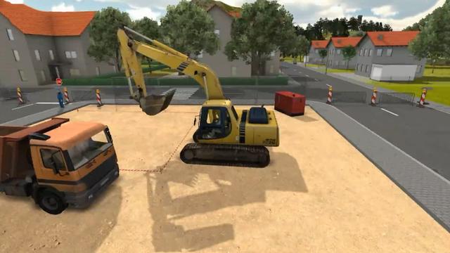 Machine Sim 2016 Construction Excavator Digger Driver