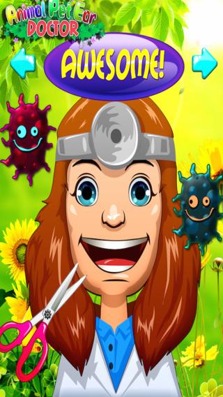 Animal Pet Ear Doctor- Fun Free Kids Games for Girls Boys