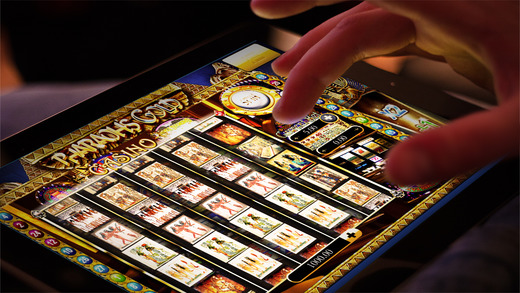 A Abbies Pharaoh Egypt Golden Slots Classic Machine
