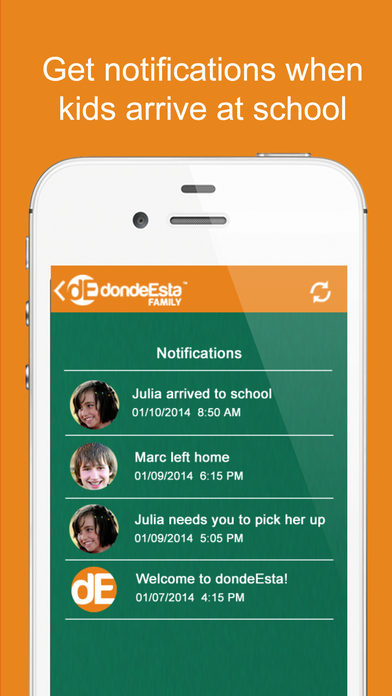 dondeEsta Family - Locate your Family screenshot
