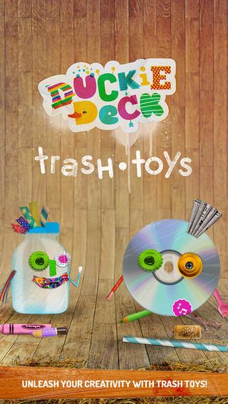 Duckie Deck Trash Toys