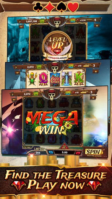 Screenshot 5 Пираты Грудь Слоты — Пират Бей Издание