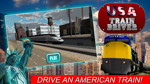 USA Train Driver Simulator 3D Free