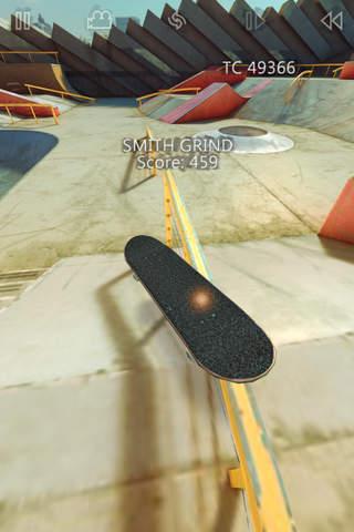 iphone True Skate Screenshot 1