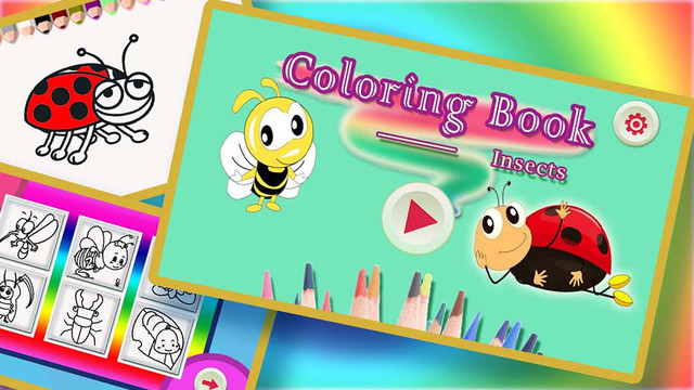 Coloring Book For Kids - Insects Screenshots