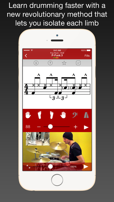 Drum School iPhone Screenshot 1