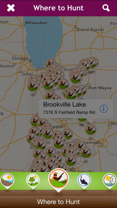 Indiana DNR iPhone Screenshot 2
