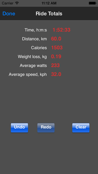 Bike Calculator iPhone Screenshot 3