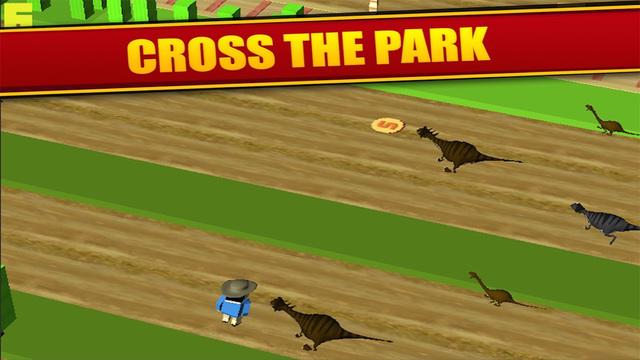 Jurassic Crossy - Dino Crossing Roads