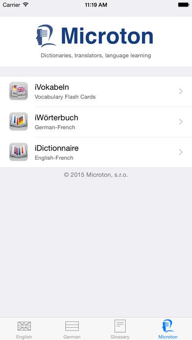 iWörterbuch German-English iPhone Screenshot 5