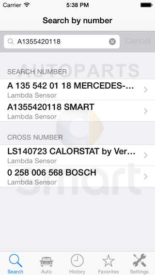 Autoparts for Smart
