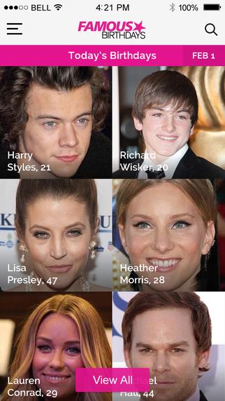 Famous Birthdays: celebrity bios and birthdays