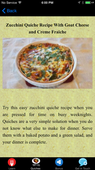 Quiche Recipes - Create Beautiful Quiches Today