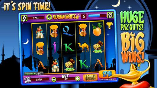 Aancient Slots Arabian Nights FREE Slots Game