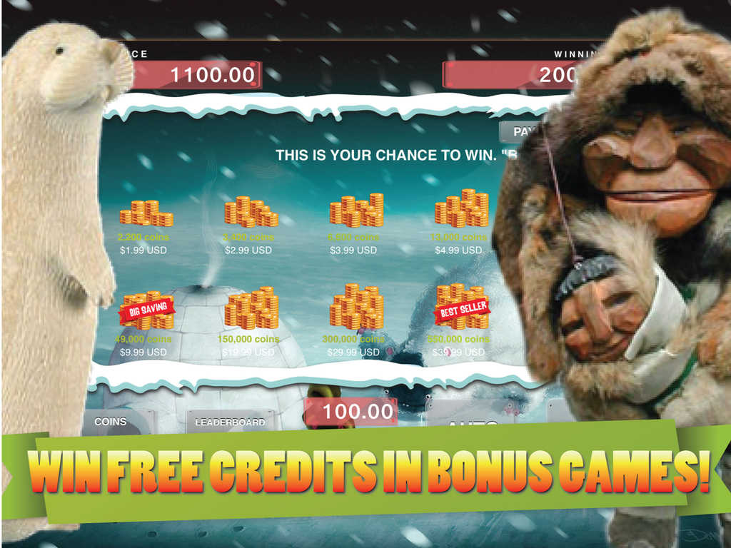 Eskimo's Wild Life Slot Machine - Play for Free Now