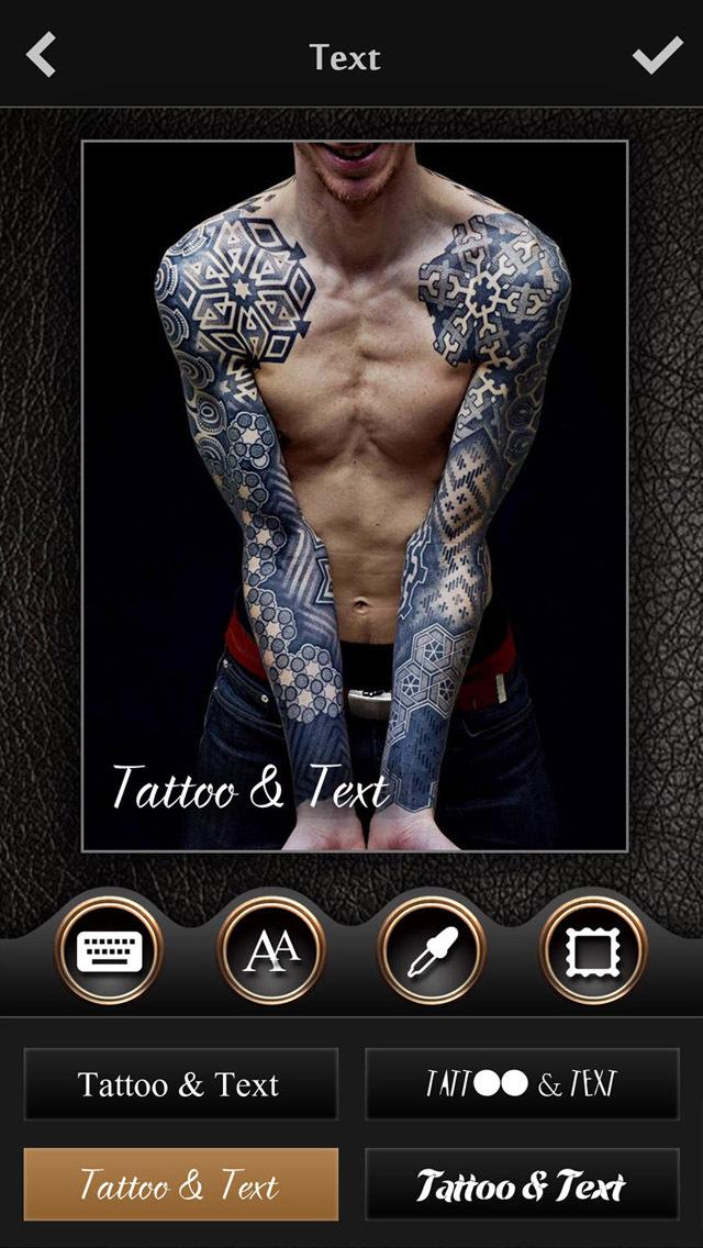 Virtual tattoo maker free photo designer to add artist for Tattoo designer online free