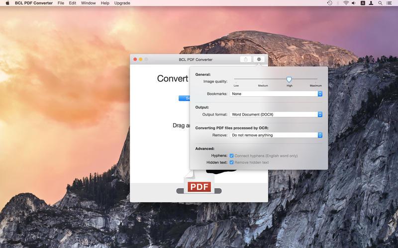 BCL PDF Converter Screenshot - 5