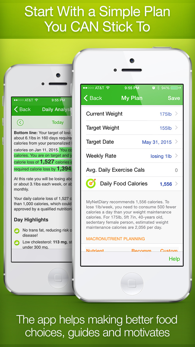 The best iPhone apps for nutrition