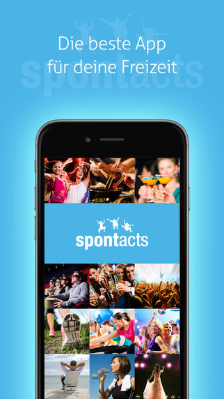 Spontacts - Community for free time activities. Sports hobby games with friends contacts