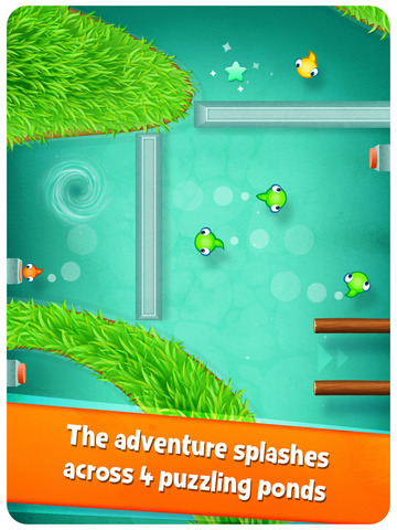 Tasty Tadpoles - Fun puzzle action for the whole family Screenshots