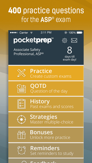 Associate Safety Professional Exam Prep 2015