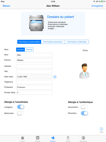 App prodentist gestion de cabinet dentaire app - Application gestion cabinet dentaire ...