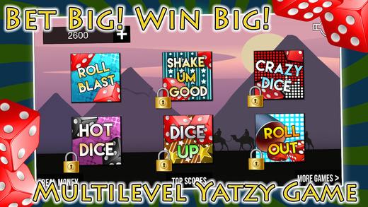 Pharaohs Yatzy Mania with Big Prize Wheel Blitz