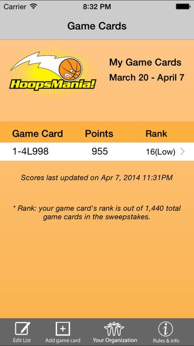 HoopsMania iPhone Screenshot 3