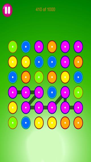 Four Dots - Free Flow Dots Puzzle Game