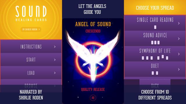 Sound Healing Cards