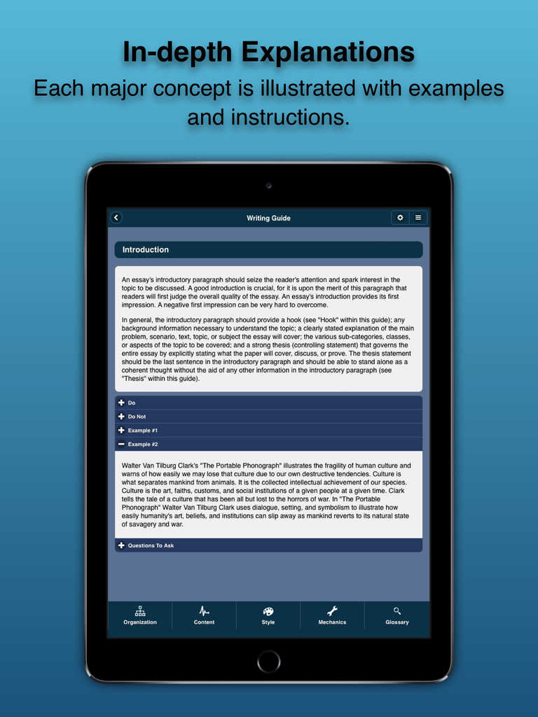 Essay writing help app for iphone