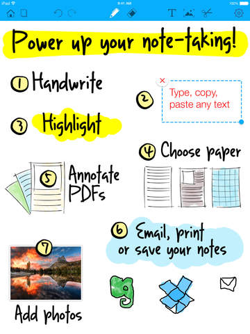 Notepad+ Free - Take Notes and Memos with Handy Handwriting Tool