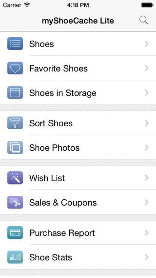 myShoeCache Lite: Shoe Organizer