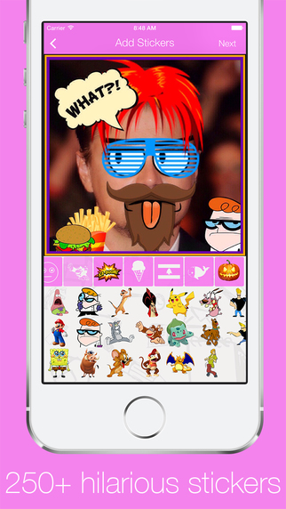 Opak - Photo Editor - Add stickers filters text and frames
