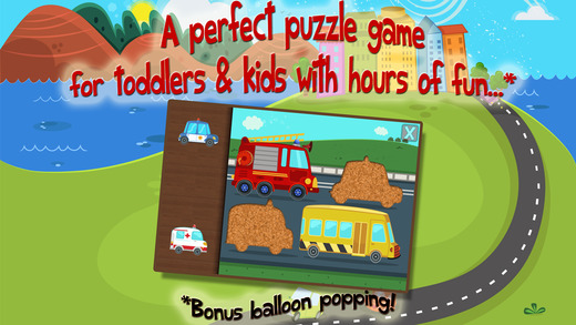 Car Puzzles for Kids - Educational Edition