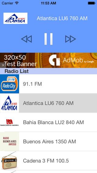 Radio Argentina - Las Radios Argentinas Gratis
