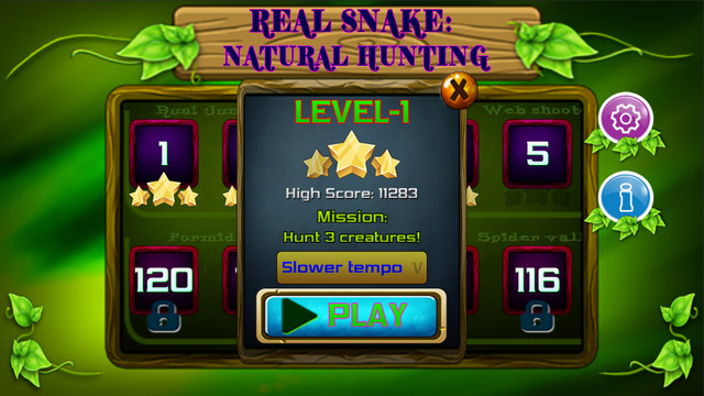 Real Snake: Natural Hunting Screenshots