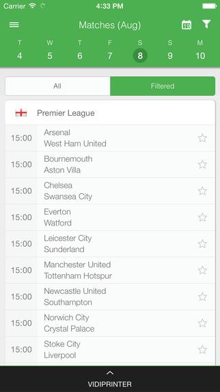 CrowdScores - Livescore - Live football scores results fixtures lineups and league table updates str