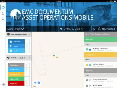 EMC Documentum Asset Operations Mobile