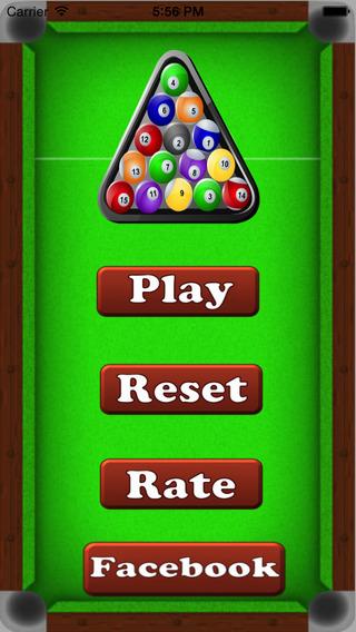 Snooker Balls : Matching Crushing the balls Be challenger for Facebook Friends