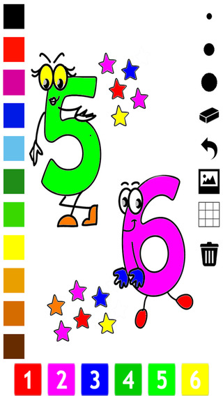 A Numbers Coloring Book for Toddlers: Learn to color and write 1-10