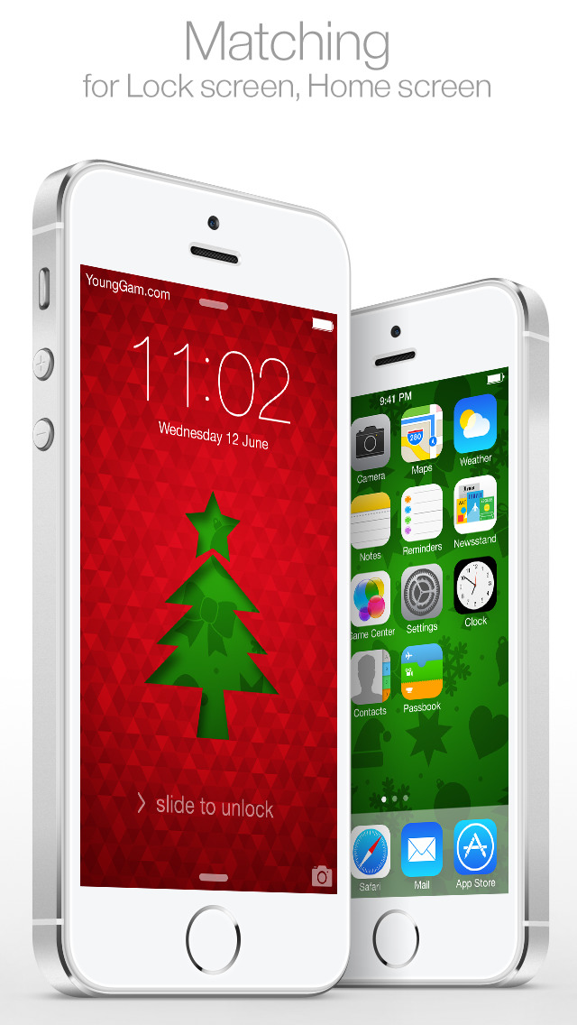 ... Christmas themes : for Lock screen & Home screen ( New Wallpaper by YoungGam.com ...