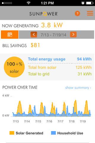 SunPower Customer Portal screenshot 2